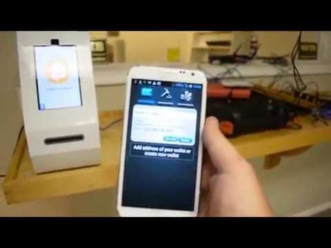 Unboxing And Demo Of The Project Skyhook Bitcoin ATM