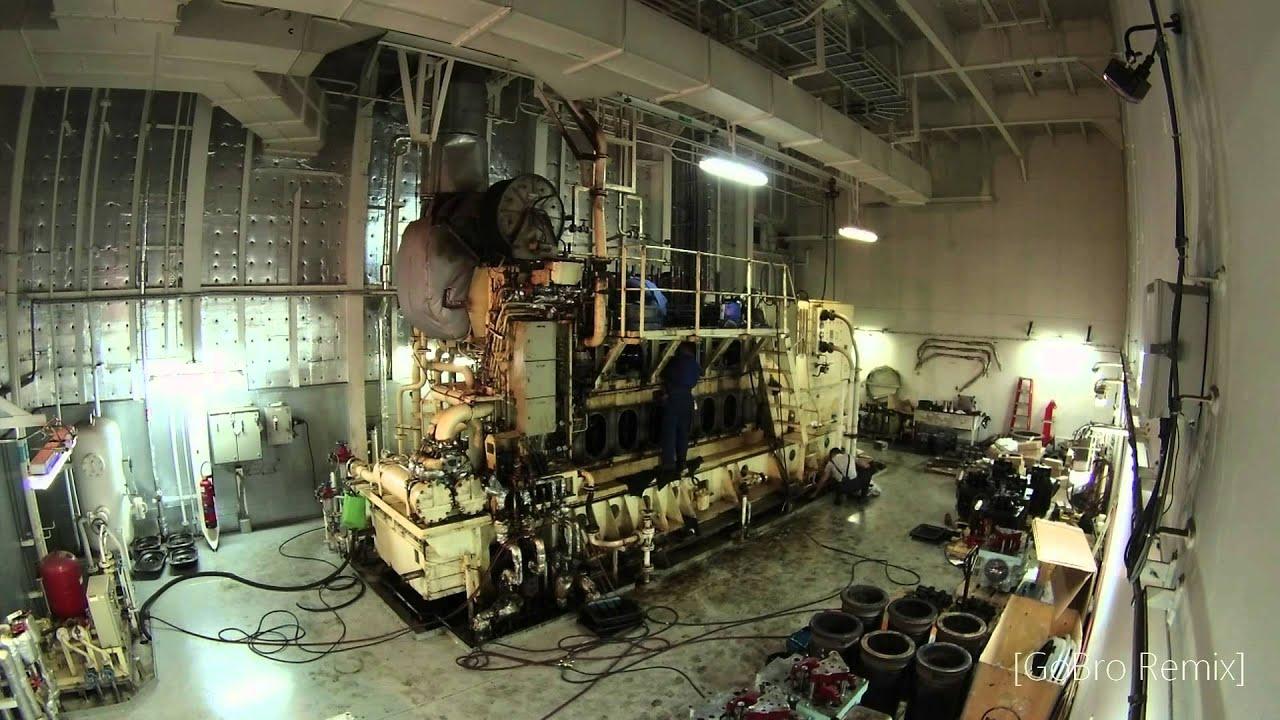 Maersk Detroit Diesel Generator Rebuild