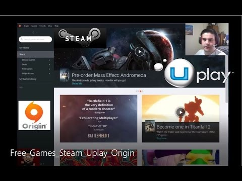 Free Games Steam Uplay Origin