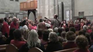 Wellington Community Choir sings WOYAYA