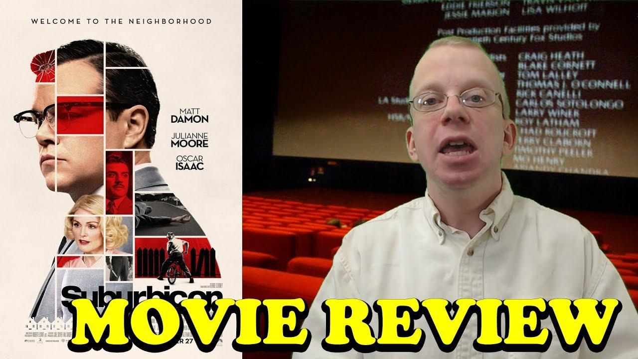 Suburbicon - Movie Review - YouTube