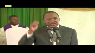Kenyatta On Unity In Muranga