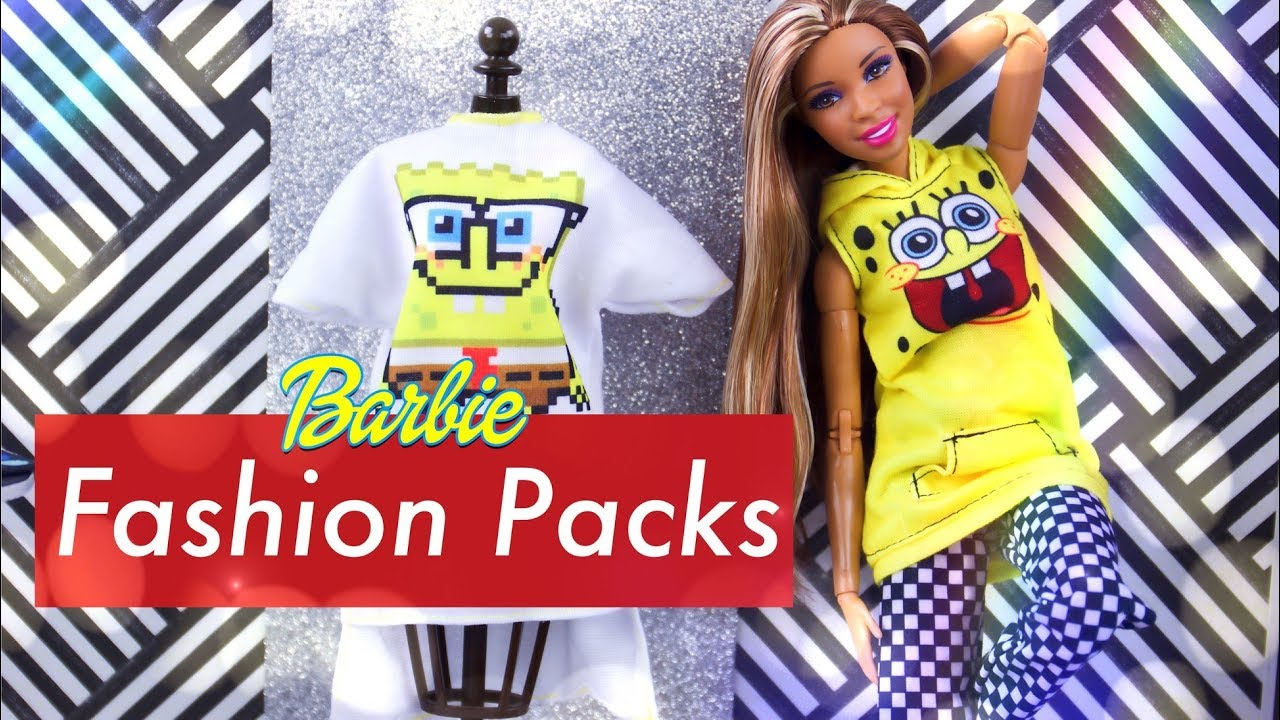 Unbox Daily: ALL NEW Barbie Fashion Packs Haul