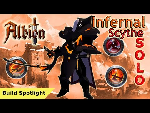 Infernal Scythe Solo Dungeon Speed Clear | Albion Online