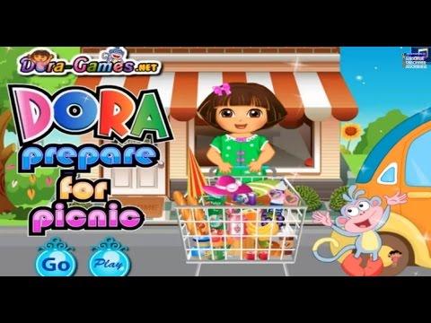 Dora Online Game Children Gameplay Video - Baby Girl Games ...