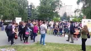 """Flashmob, Colegiul de Artă """"Carmen Sylva"""" - Ploieşti"""