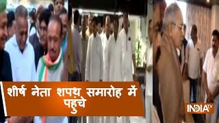 Top Leaders Arrives Into The Swearing-In Cermony Of Rajasthan CM Ashok Gehlot
