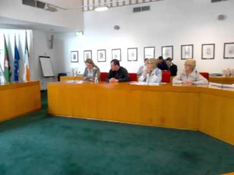 CAPTA take over limerick city council chambers part 1