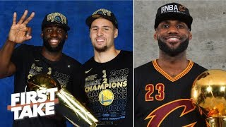 The Warriors Finals streak is more impressive than LeBrons  Stephen A  First Take