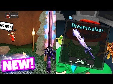 CRAFTING THE NEW DREAMWALKER! (Roblox Assassin Update) *RAREST*