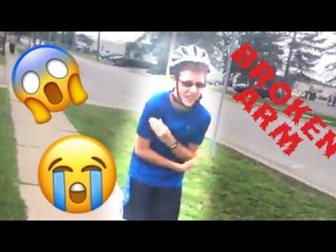 C-DAWG BREAKS ARM WHILE RIDING BIKE | The Lunatics Vlog