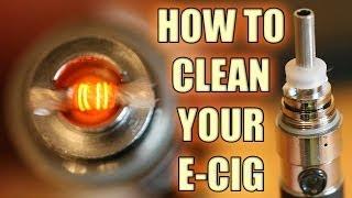 Clean Your Atomizer - Protank EVOD MT3 T3 Kanger