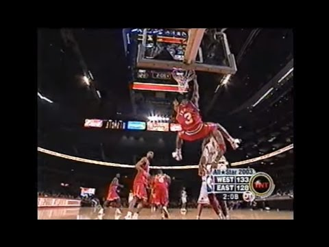 All 36 Dunks from the 2003 NBA All-Star Game
