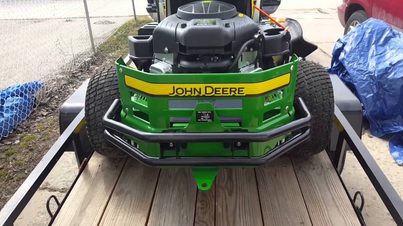 Living the Lawn Care Lifestyle #0 2 More on the John Deere z335e