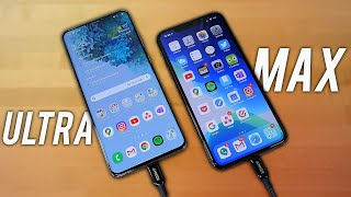 Samsung Galaxy S20 Ultra VS iPhone 11 Pro Max - UNFAIR?!