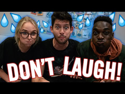 DON'T LAUGH CHALLENGE W/ JENNXPENN VS. RICKEY THOMPSON | Top Five Live
