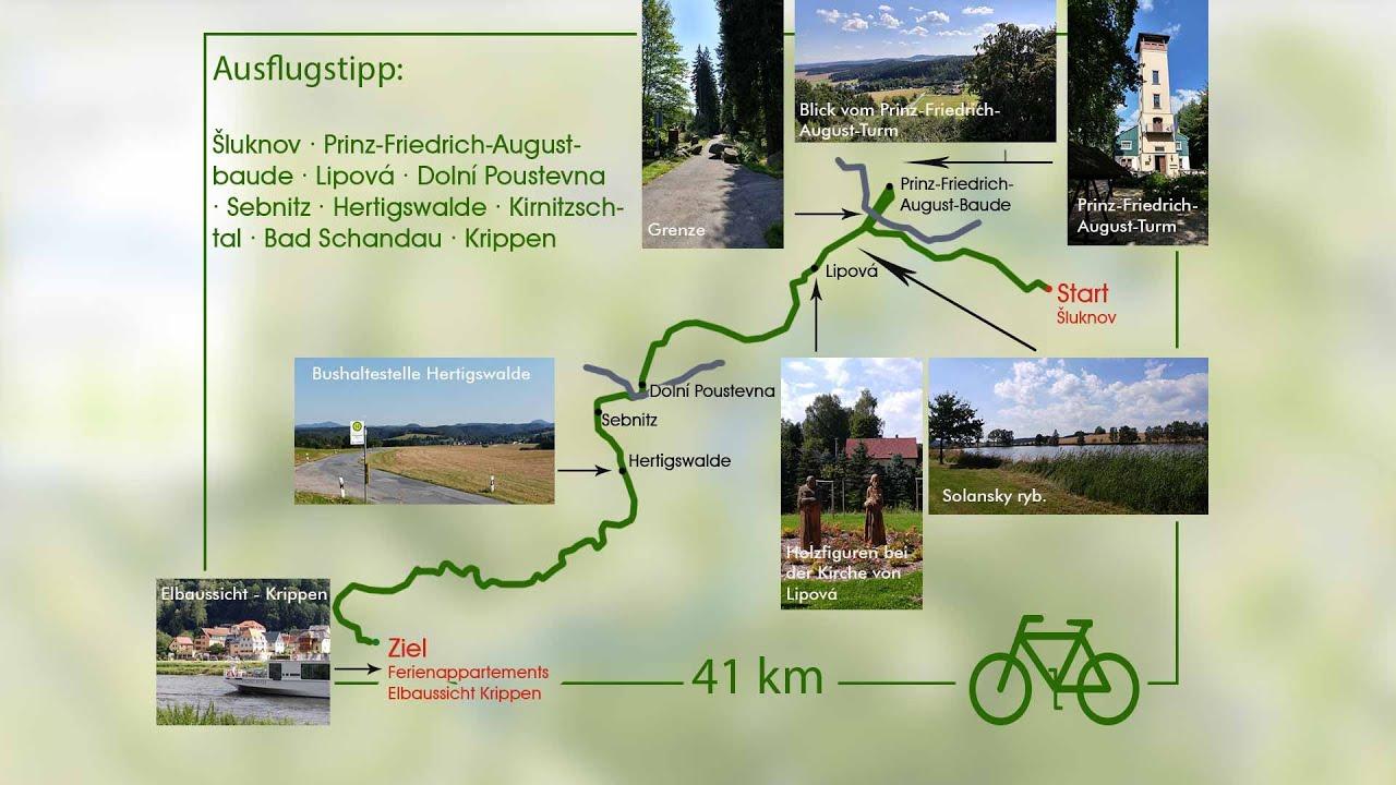 Deutsch-Tschechische-Fahrradtour durch den Schluckenauer Zipfel