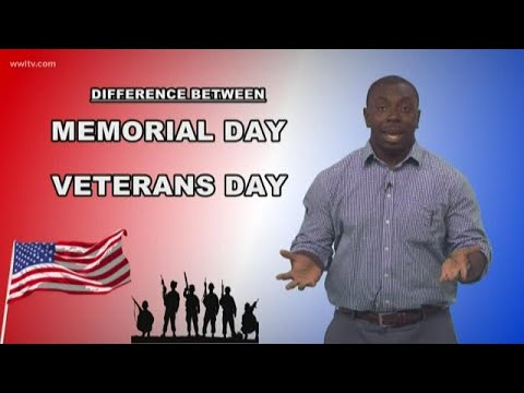 Veterans Day vs. Memorial Day: What's the Difference?