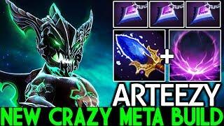 ARTEEZY [Outworld Devourer] New Crazy Meta Scepter Build One Ultimate Kill 7.23 Dota 2