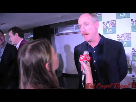 Matt Walsh at the Grand Opening of the Upright Citizens Brigade Sunset #UCB