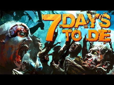 7 Days to Die |  Super Night Horde Day 35 Ep. 43