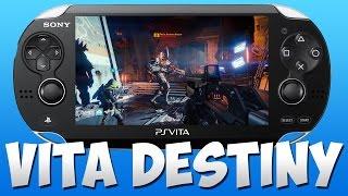 DESTINY ON PS VITA! Destiny Multiplayer On The Playstation 4 & Vita Remote Control