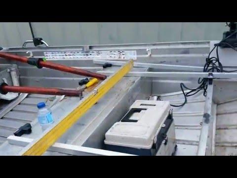 upgrading my aluminium fishing boat 3.7m