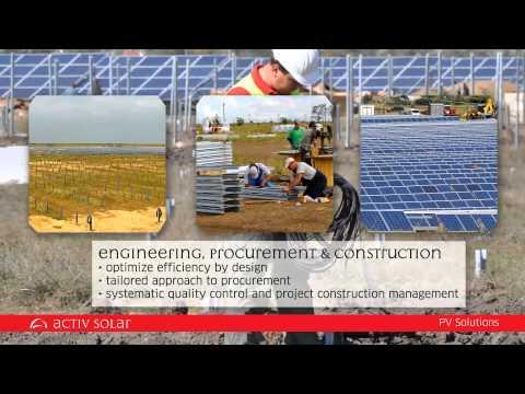 Activ Solar. Producing an alternative future.