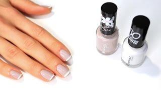 60 Seconds Super Shine Wedding Manicure Tutorial | Rimmel London