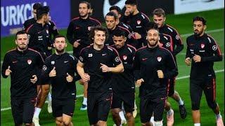 Milli takım, Bosna Hersek maçının hazırlıklarını sürdürdü