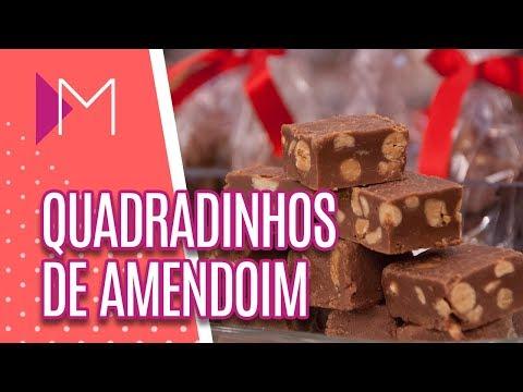 Quadradinhos de amendoim - Mulheres (17/08/18)