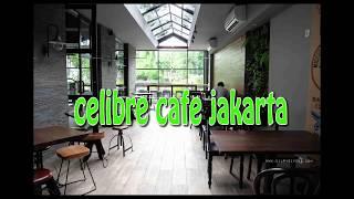 concept of interior and exterior cafe design as creative idea by celibre cafe jakarta