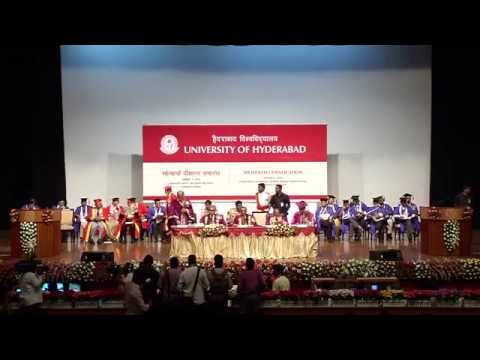 University of Hyderabad - XVIConvocation