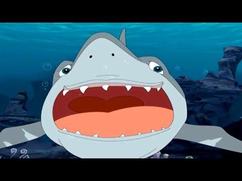 Мультфильм смотреть про акул