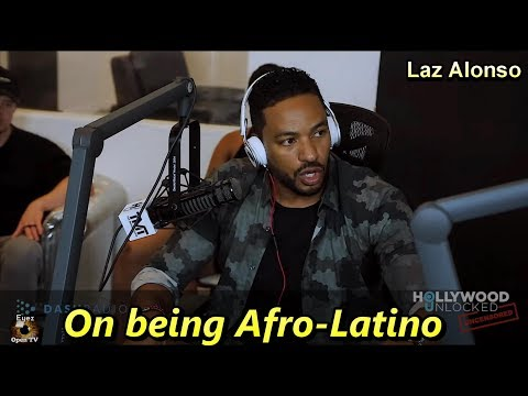 Laz Alonso on being Afro-Latino