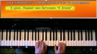 Урок 5. Курс фортепиано. Людвиг ван Бетховен