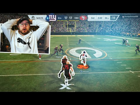 For Anyone Who Wants To Watch A Great Madden Game, Here You Go..