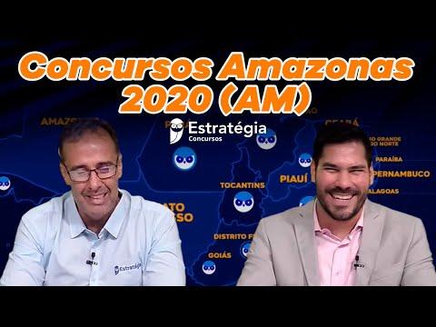 Concursos Amazonas 2020 (AM)
