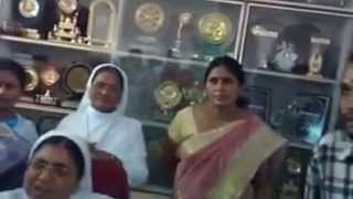 Hindu Vahini seized Bibles and stopped Conversion ploy at St. Pious High School, Hyderabad