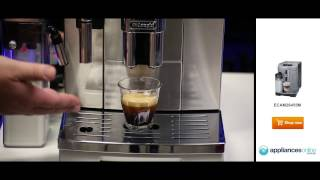 Delonghi demonstrates how to make perfect espressos and lattes - Appliances Online