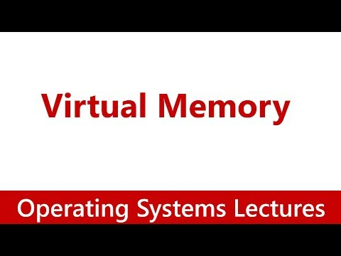 Operating System #06 Virtual Memory & Demand Paging in Operating Systems