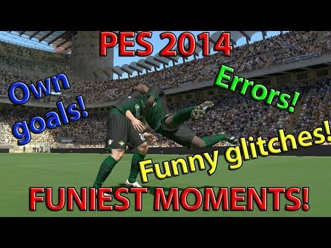 PES 2014 | Funniest moments, epic fails, funny bugs and glitches!