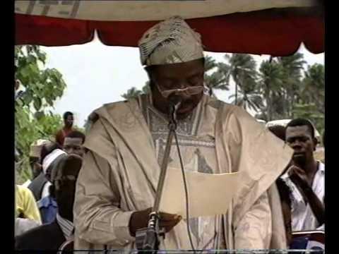 LAGOS STATE MINISTRY OF HEALTH, 1991 HEALTH EDUCATION WEEK OPENING CEREMONY  GOVT RAJI RAZAK