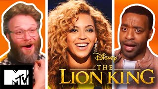 The Lion King Cast Play How Well Do They Know Each Other | MTV Movies