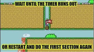 """I Had To Restart Way Too Many Times...Super Mario Maker """"troll bait"""" By Justin"""