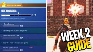 ALL FORTNITE WEEK 2 CHALLENGES LEAKED! FORTNITE SEASON 5 WEEK 2 CHALLENGES COMPLETE GUIDE!