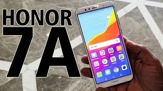 Honor 7A: First Look | Hands on | Price | [Hindi हिन्दी]