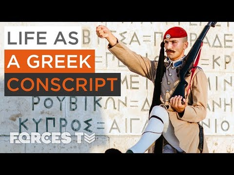 The Yorkshireman Who Became A Greek Presidential Guard | Forces TV