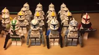 Моя Армия Клонов из Lego Star Wars! Review