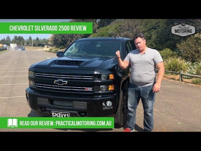 2018 Chevrolet Silverado 2500 Video Review Youtube